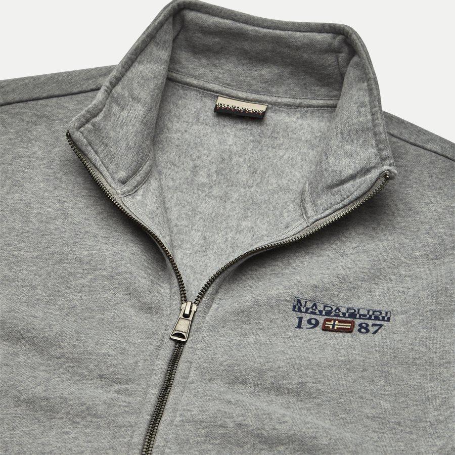 BERTHOW LOGO FULL - Berthow Logo Sweatshirt - Sweatshirts - Regular - GREY - 3