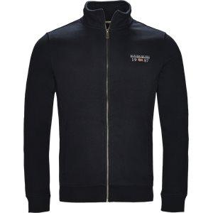 Berthow Logo Sweatshirt Regular | Berthow Logo Sweatshirt | Blå