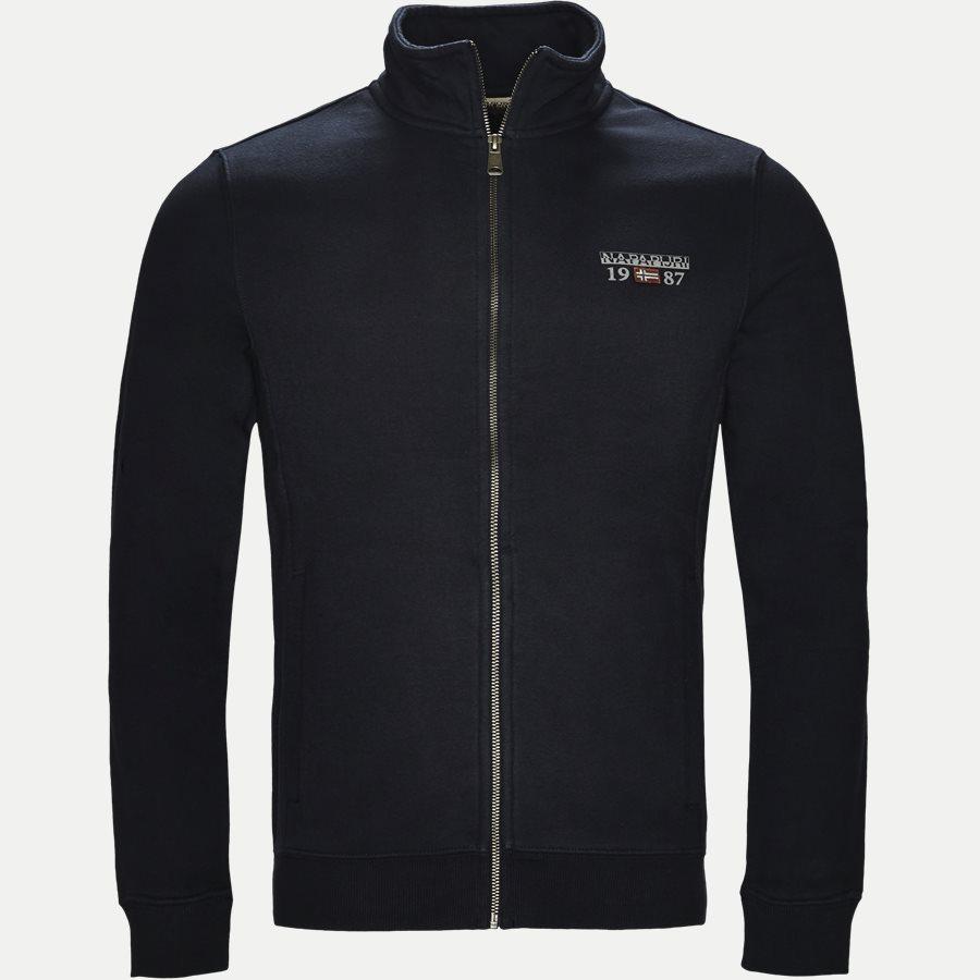 BERTHOW LOGO FULL - Berthow Logo Sweatshirt - Sweatshirts - Regular - NAVY - 1