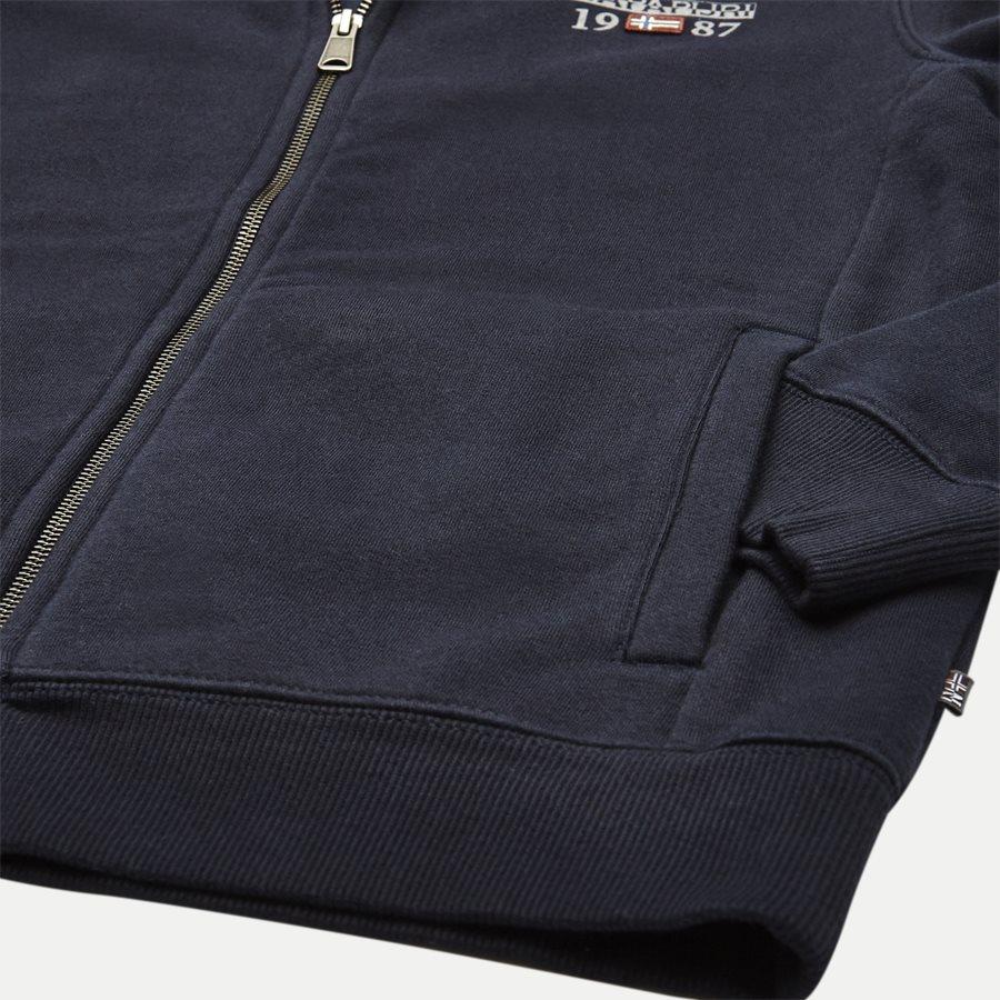 BERTHOW LOGO FULL - Berthow Logo Sweatshirt - Sweatshirts - Regular - NAVY - 4