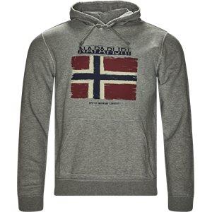 Balys Hooded Sweatshirt Regular | Balys Hooded Sweatshirt | Grå
