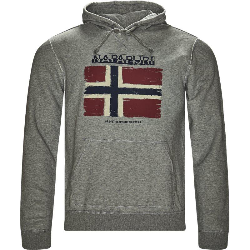 napapijri – Napapijri - balys hooded sweatshirt på kaufmann.dk