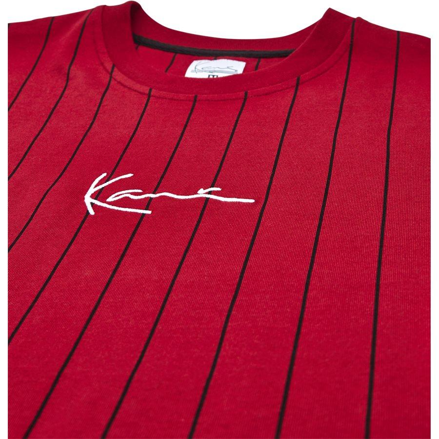 6038814 PIN STRIPE - Pin Stripe 6038814 T-Shirt - T-shirts - Regular - RØD - 3