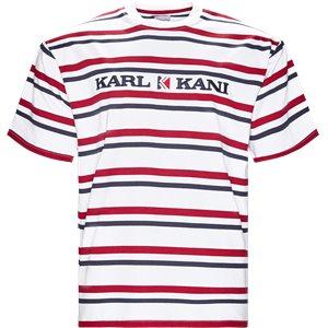 KK Stripes 6038811 T-shirt Regular | KK Stripes 6038811 T-shirt | Hvid