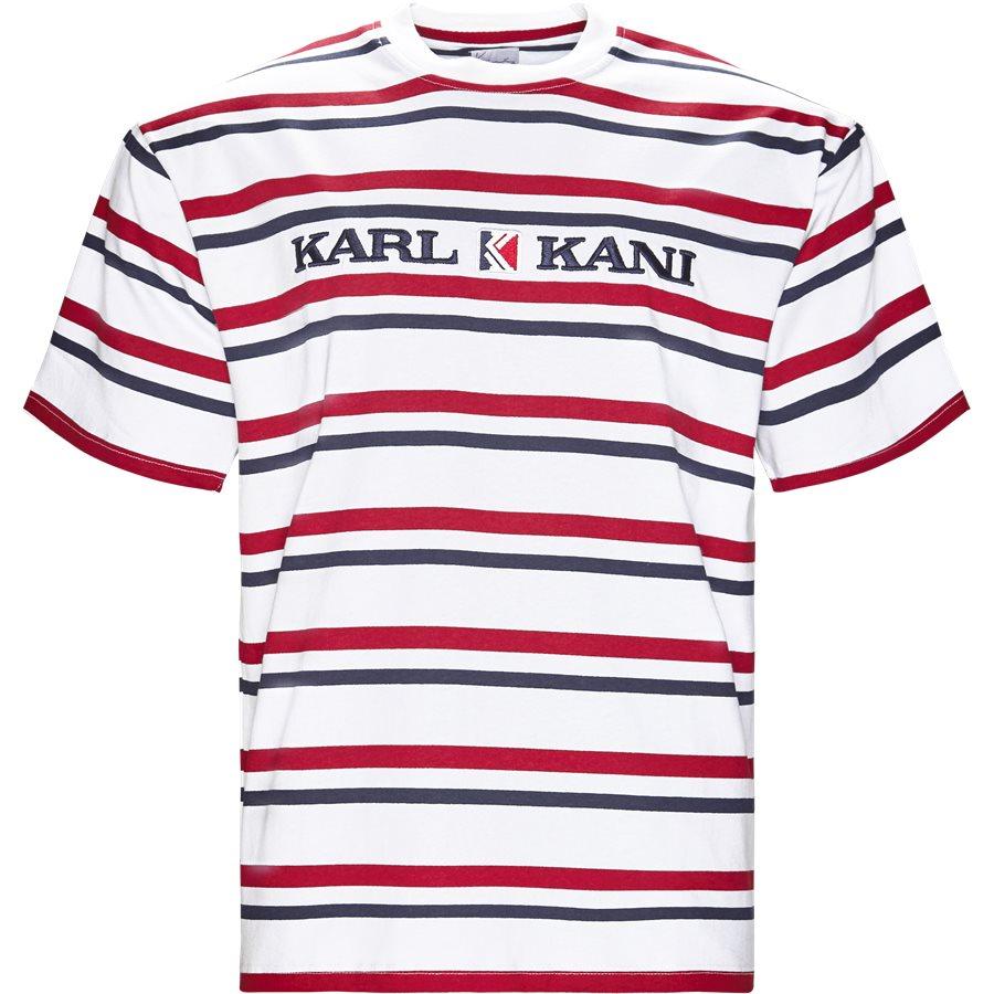 6038811 KK STRIPES - KK Stripes 6038811 T-shirt - T-shirts - Regular - HVID - 1