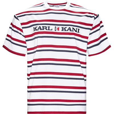 KK Stripes 6038811 T-shirt Regular | KK Stripes 6038811 T-shirt | Hvid