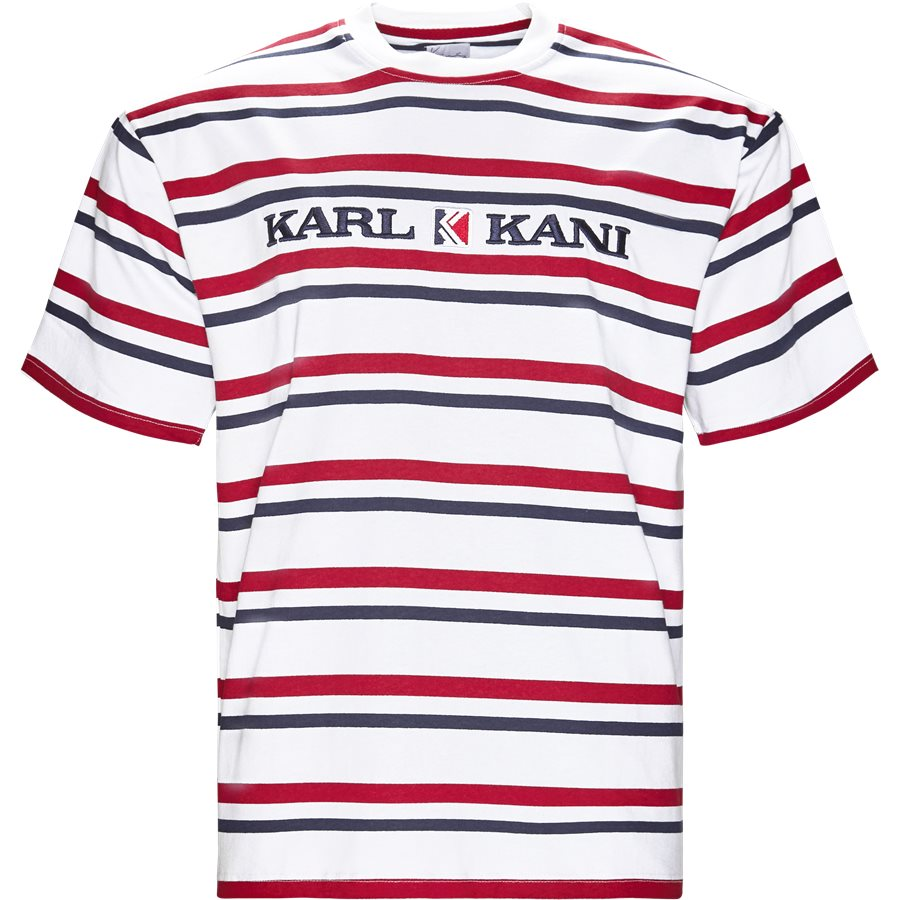 6038811 KK STRIPES - KK Stripes 6038811 T-shirt - T-shirts - Regular - HVID - 1