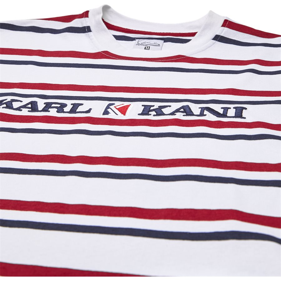 6038811 KK STRIPES - KK Stripes 6038811 T-shirt - T-shirts - Regular - HVID - 3