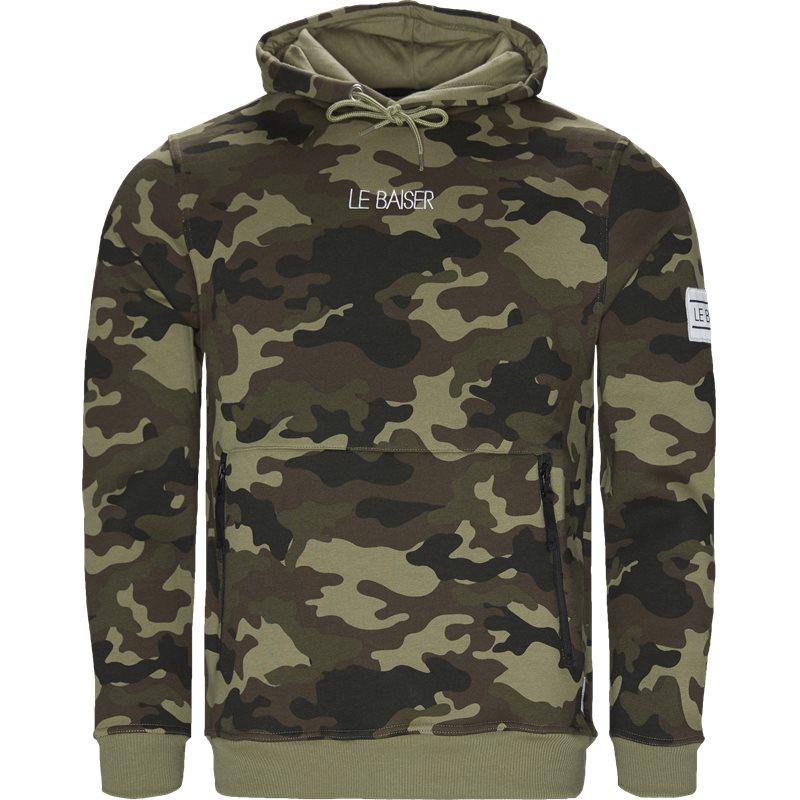 Image of   Le Baiser Morzine Sweatshirts Army/camo