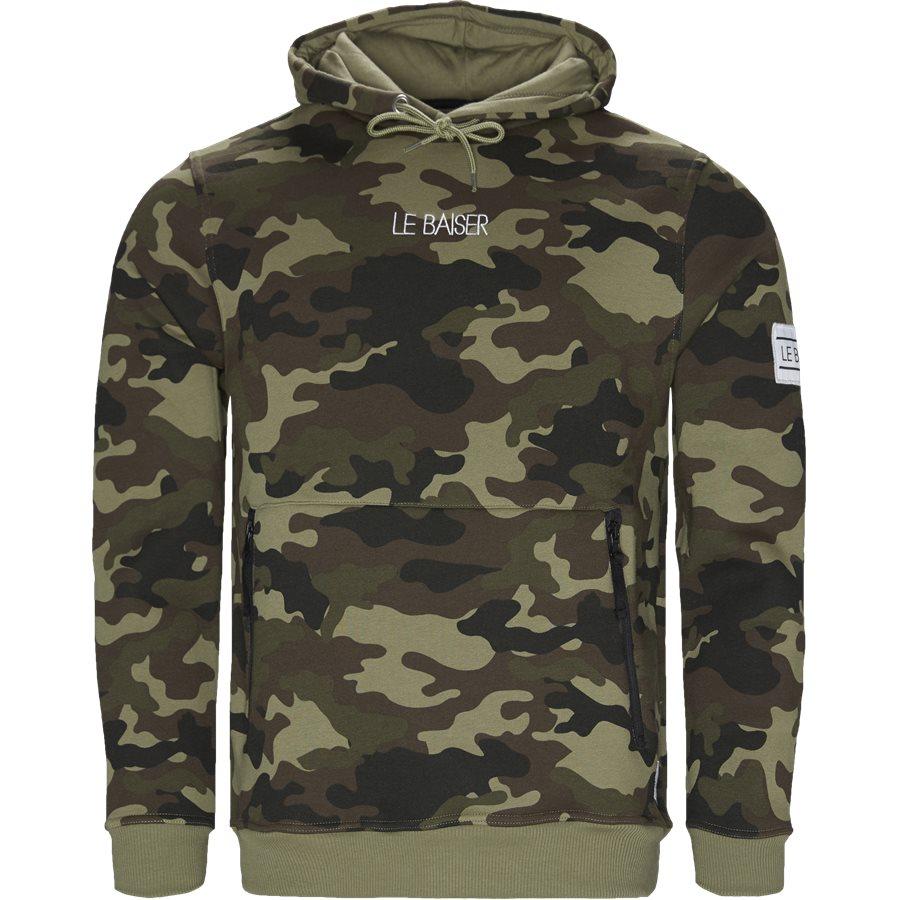 MORZINE - Morzine - Sweatshirts - Regular - ARMY/CAMO - 1
