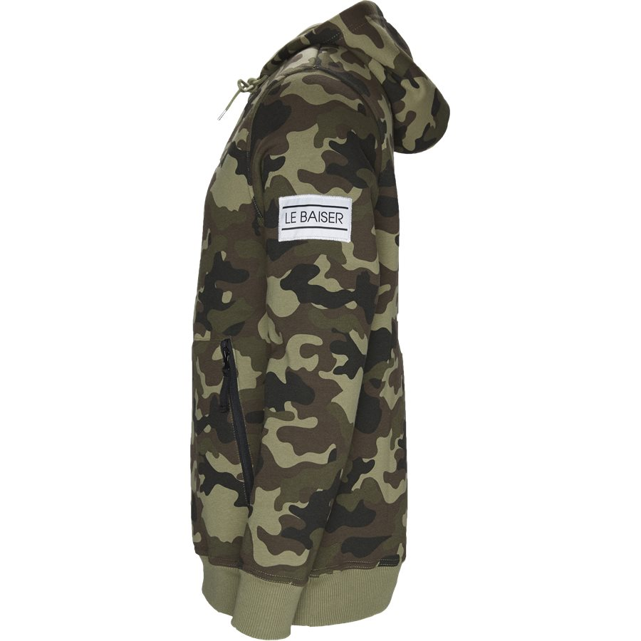 MORZINE - Morzine - Sweatshirts - Regular - ARMY/CAMO - 3