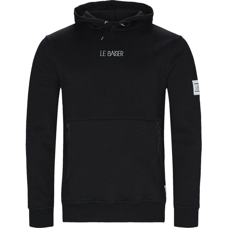 Image of   Le Baiser Morzine Sweatshirts Black