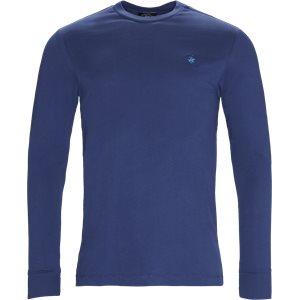 Langærmet T-shirt Regular | Langærmet T-shirt | Denim