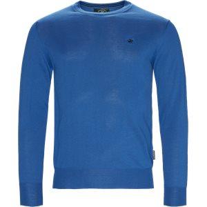 Strik Pullobver Regular | Strik Pullobver | Blå