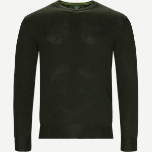 Strik Pullobver Regular | Strik Pullobver | Grøn