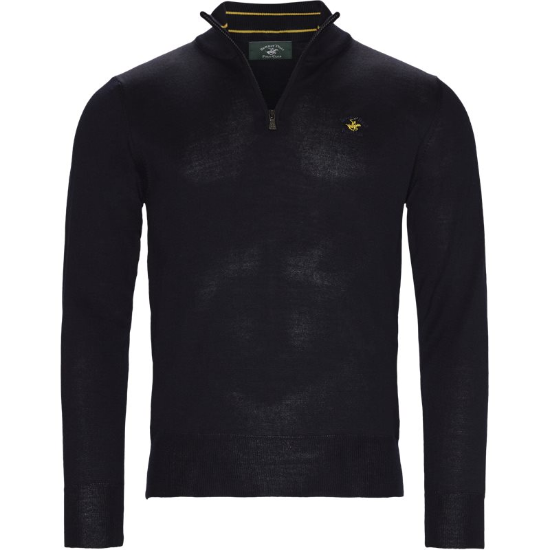 Beverly hills polo club - half zip knit fra beverly hills polo club på kaufmann.dk