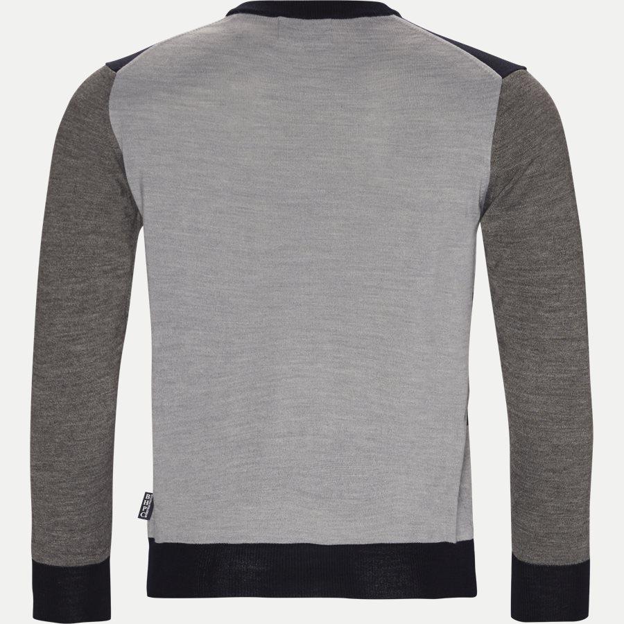4450 PULLOVER - Pullover - Strik - Regular - GRÅ - 2