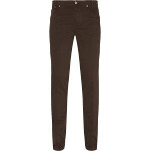 Trouser Slim | Trouser | Brun