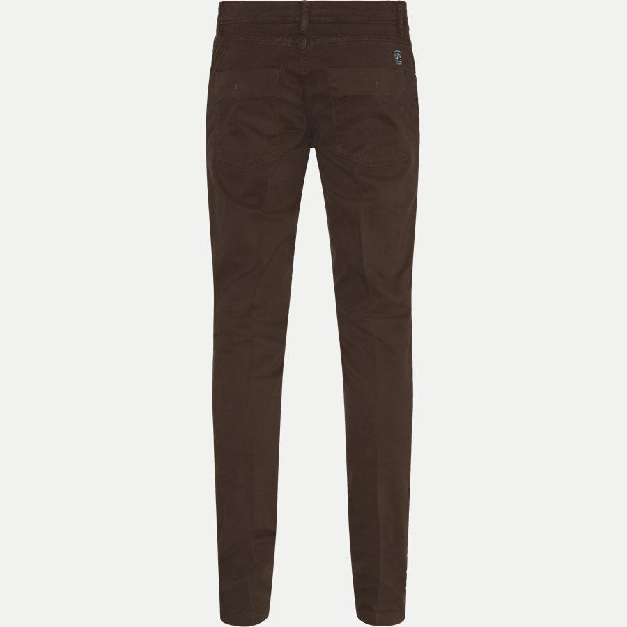 4600 TROUSER - Trouser - Bukser - Slim - BRUN - 2