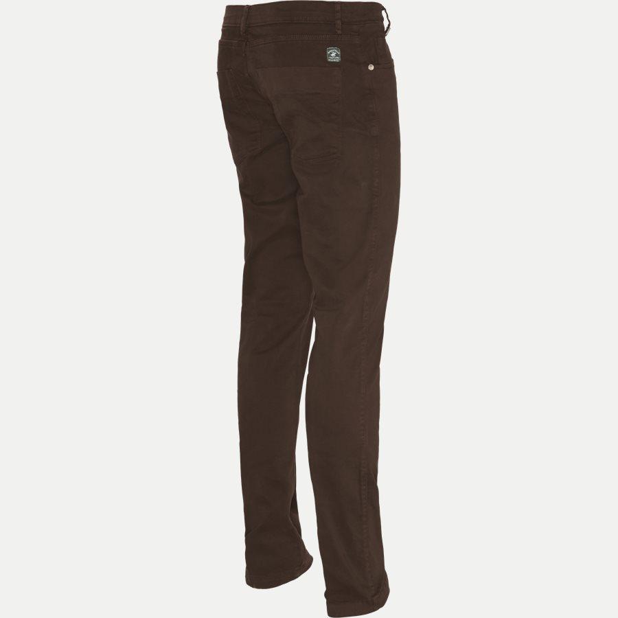 4600 TROUSER - Trouser - Bukser - Slim - BRUN - 3