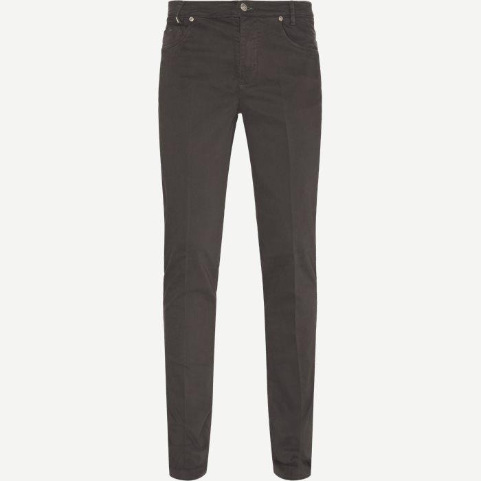 Trouser - Jeans - Slim - Grå