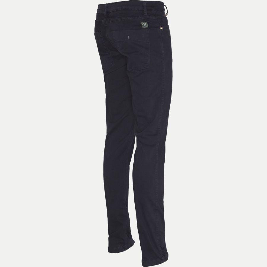 4600 TROUSER - Trouser - Bukser - Slim - NAVY - 3