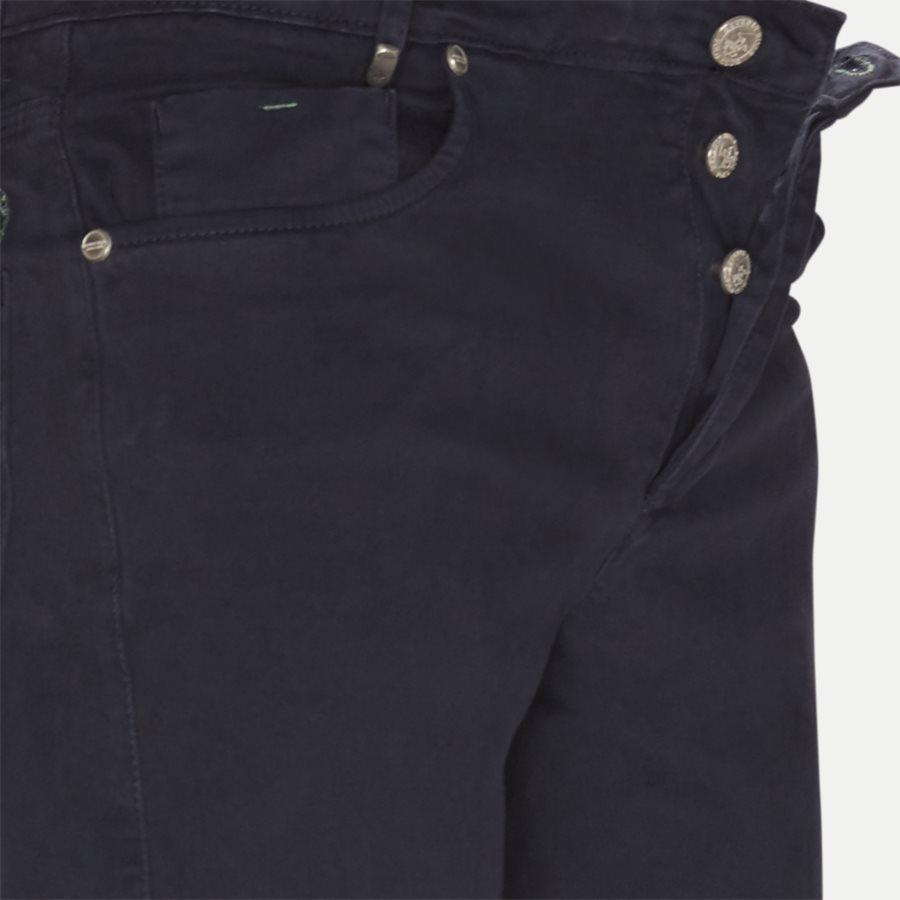 4600 TROUSER - Trouser - Bukser - Slim - NAVY - 4