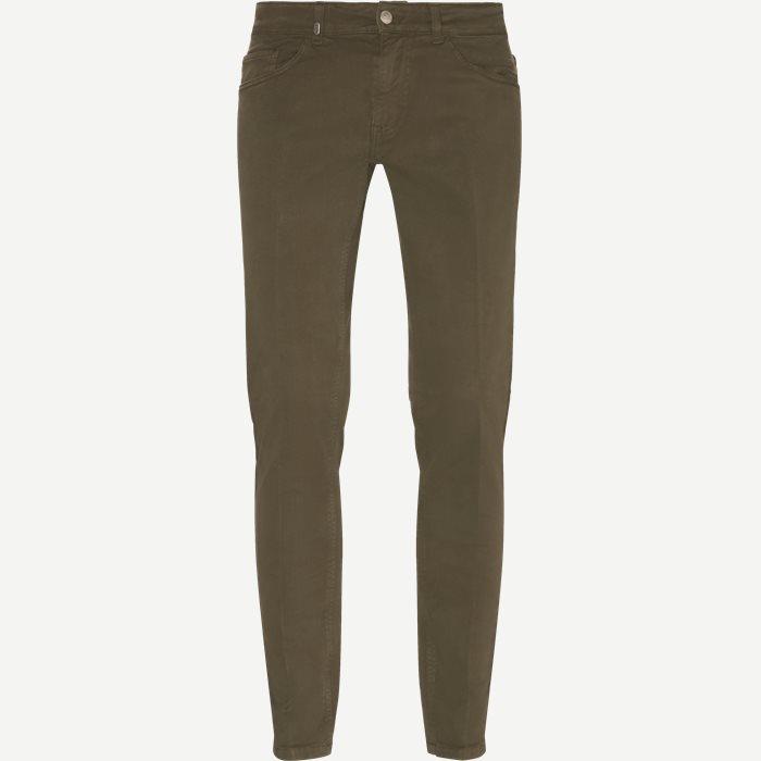 Jeans - Slim - Oliv