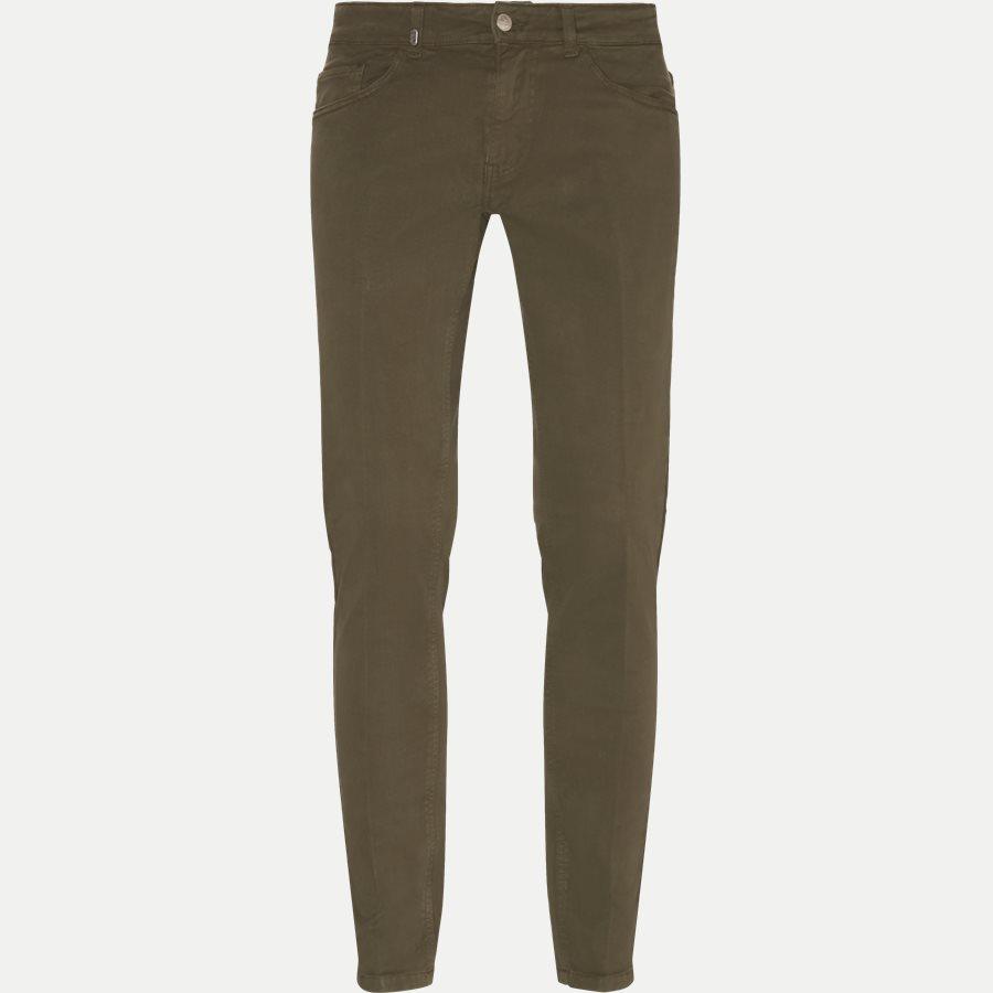 4607 TROUSER - Trouser - Bukser - Slim - ARMY - 1