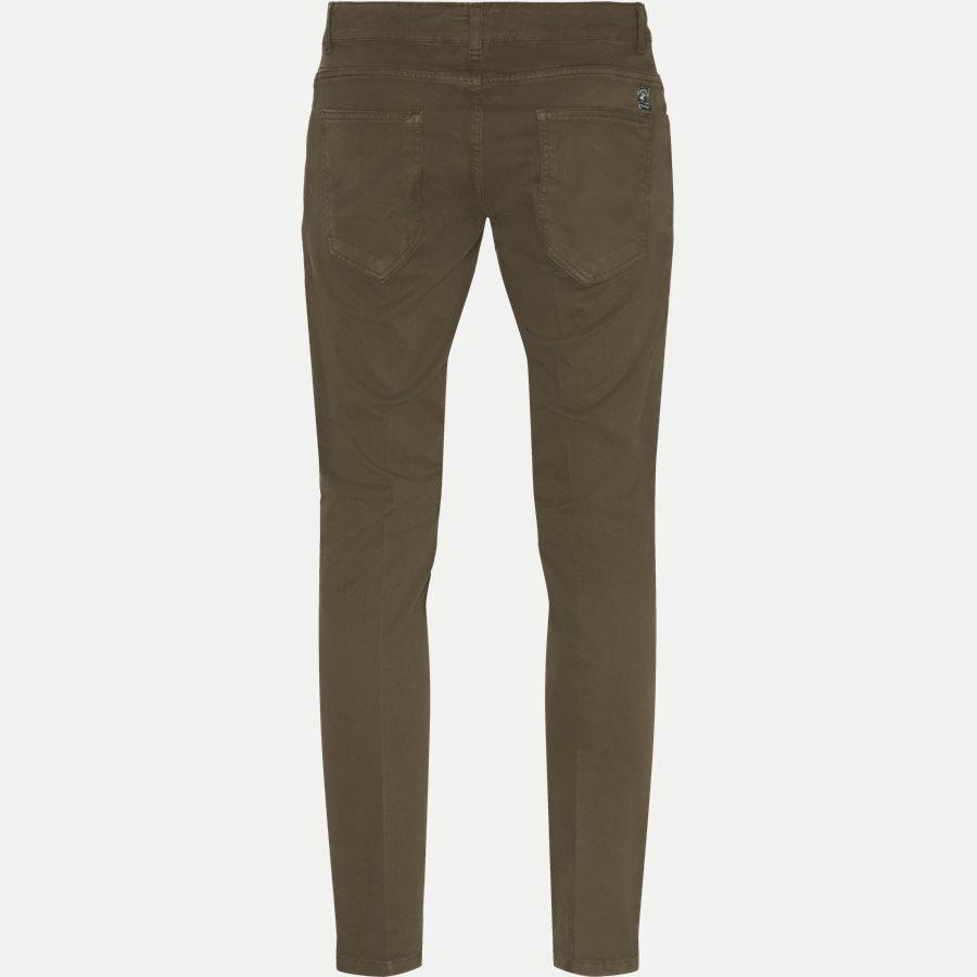 4607 TROUSER - Trouser - Bukser - Slim - ARMY - 2