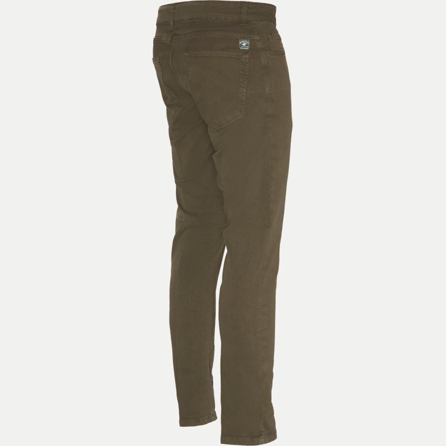 4607 TROUSER - Trouser - Bukser - Slim - ARMY - 3