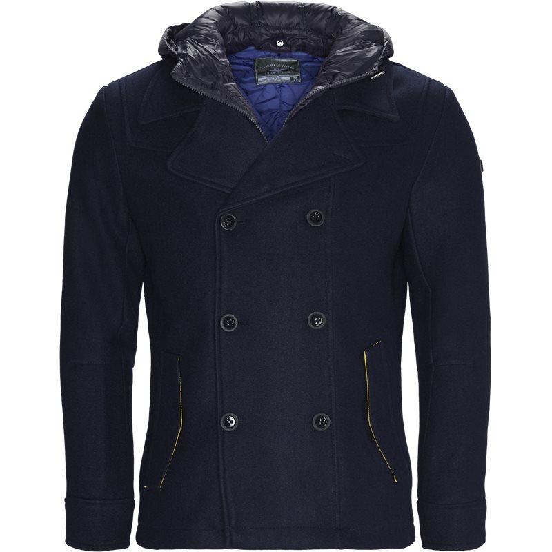 Beverly hills polo club - dobbeltradet jacket fra beverly hills polo club fra kaufmann.dk