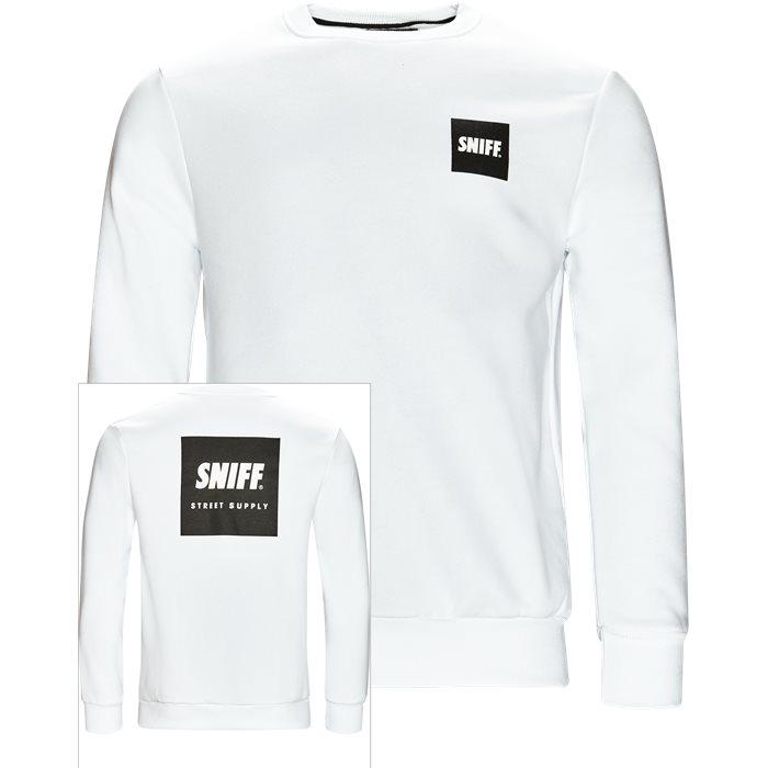 Columbus Sweatshirt - Sweatshirts - Regular - Hvid