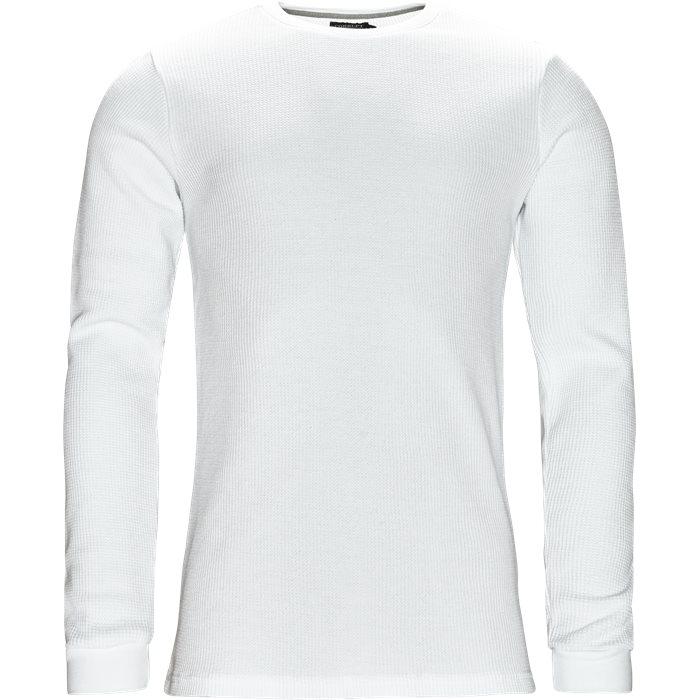 Brisbane - T-shirts - Regular - Hvid