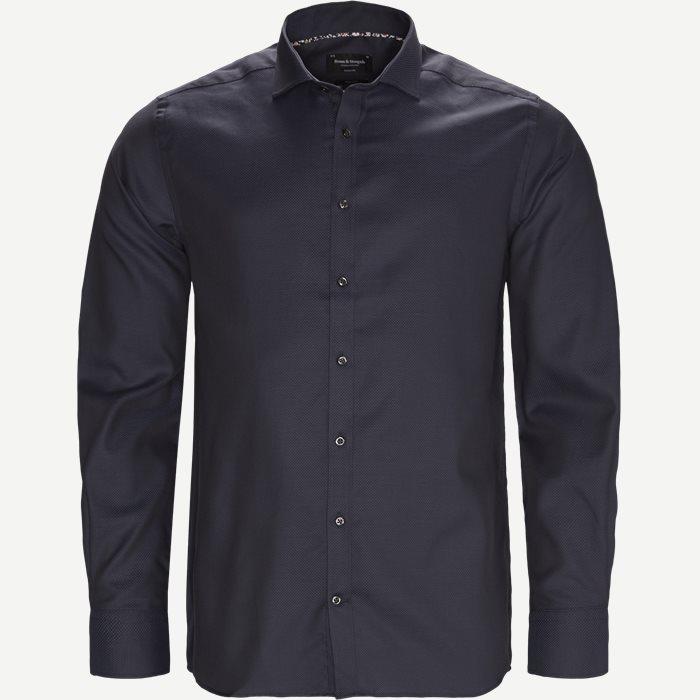 Yaya Skjorte - Skjorter - Modern fit - Blå