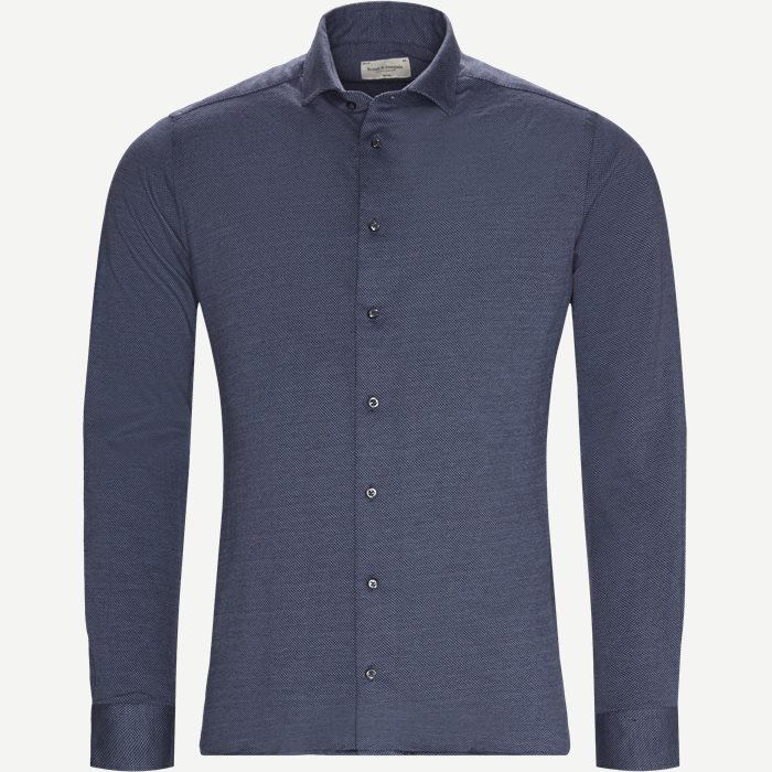 Tarth Skjorte - Skjorter - Slim - Blå