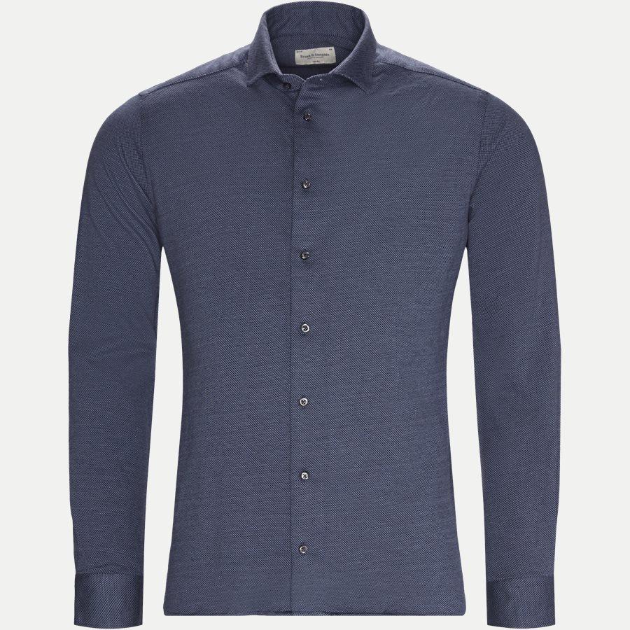 TARTH - Tarth Skjorte - Skjorter - Slim - BLÅ - 1