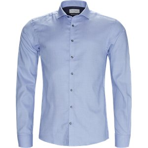 Kevin Skjorte Slim | Kevin Skjorte | Blå