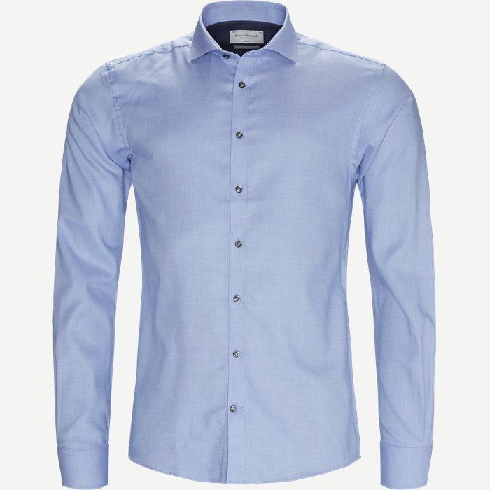 Kevin Skjorte - Skjorter - Slim - Blå