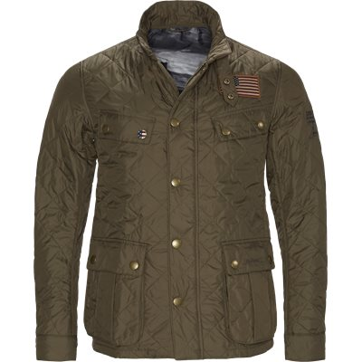 Jeffries Quiltet Jacket Regular | Jeffries Quiltet Jacket | Army