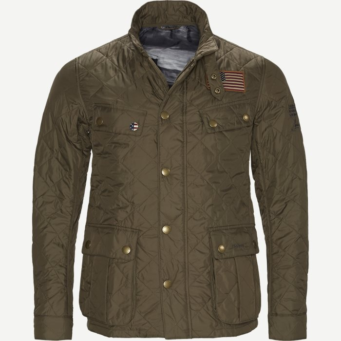 Jeffries Quiltet Jacket - Jakker - Regular - Army