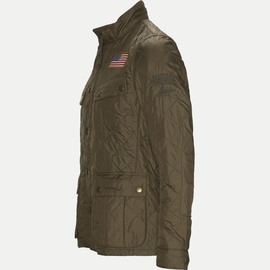 JEFFRIES QUILT - Jeffries Quiltet Jacket - Jakker - Regular - OLIVEN - 3