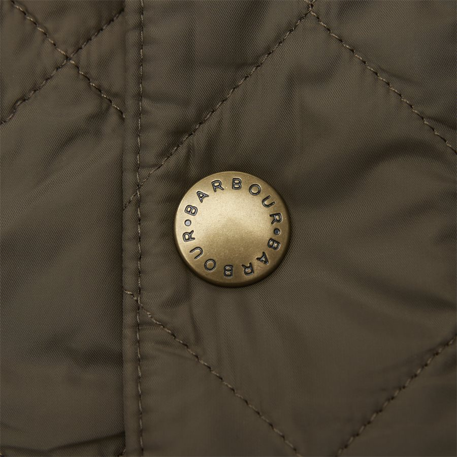 JEFFRIES QUILT - Jeffries Quiltet Jacket - Jakker - Regular - OLIVEN - 9