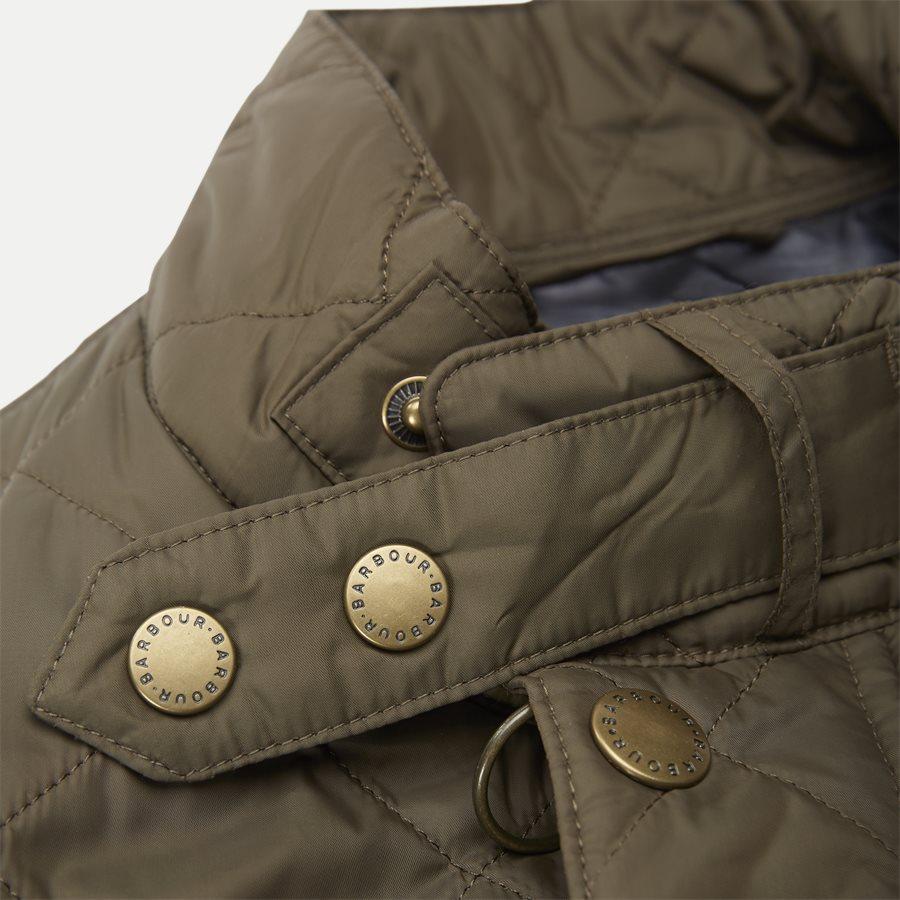 JEFFRIES QUILT - Jeffries Quiltet Jacket - Jakker - Regular - OLIVEN - 10
