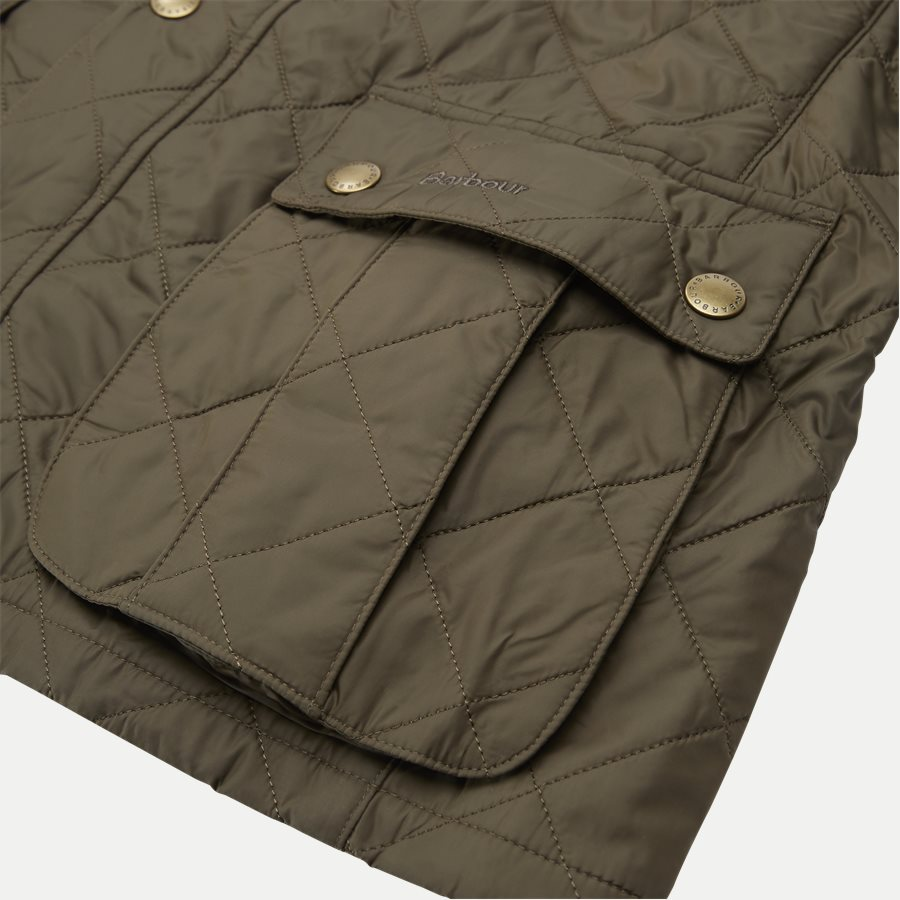 JEFFRIES QUILT - Jeffries Quiltet Jacket - Jakker - Regular - OLIVEN - 13