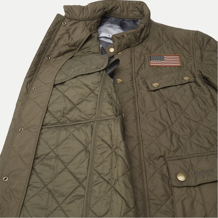 JEFFRIES QUILT - Jeffries Quiltet Jacket - Jakker - Regular - OLIVEN - 18