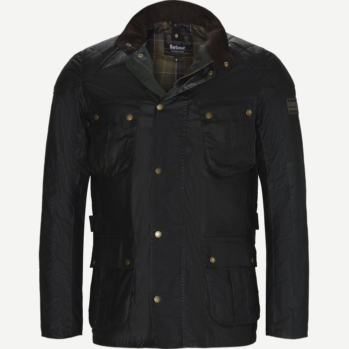 Locksean Wax Jacket - Jakker - Regular - Grå