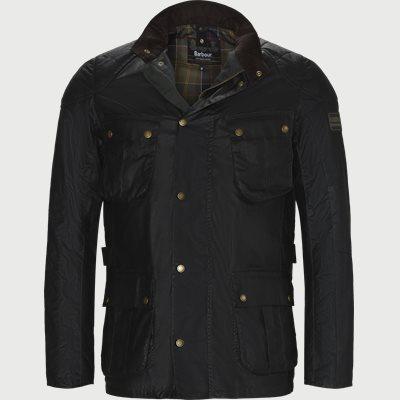 Locksean Wax Jacket Regular | Locksean Wax Jacket | Grå