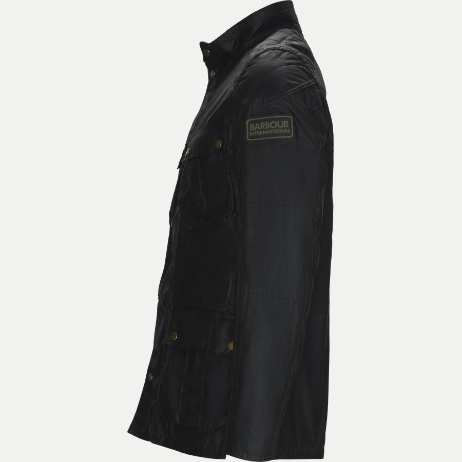 LOCKSEAM WAX JACKET - Locksean Wax Jacket - Jakker - Regular - KOKS - 3
