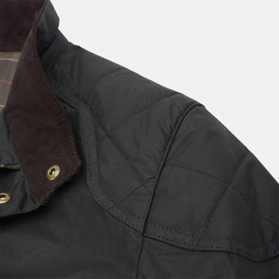 LOCKSEAM WAX JACKET - Locksean Wax Jacket - Jakker - Regular - KOKS - 7